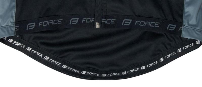 Force bunda X80 tenký softshell, černo-šedá