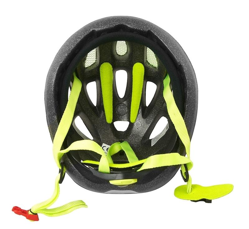 Force dětská helma LARK černá-fluo