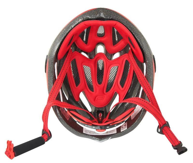 Force helma ROAD JUNIOR, černo-červeno-bílá