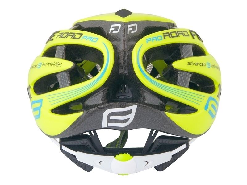 Force helma ROAD JUNIOR PRO, fluo