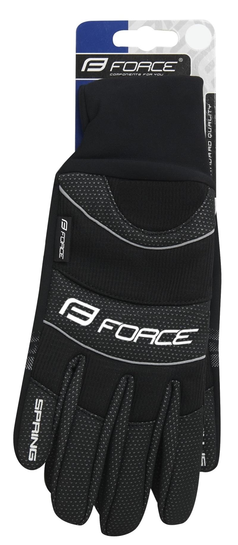 Force rukavice zimní WINDSTER SPRING černé