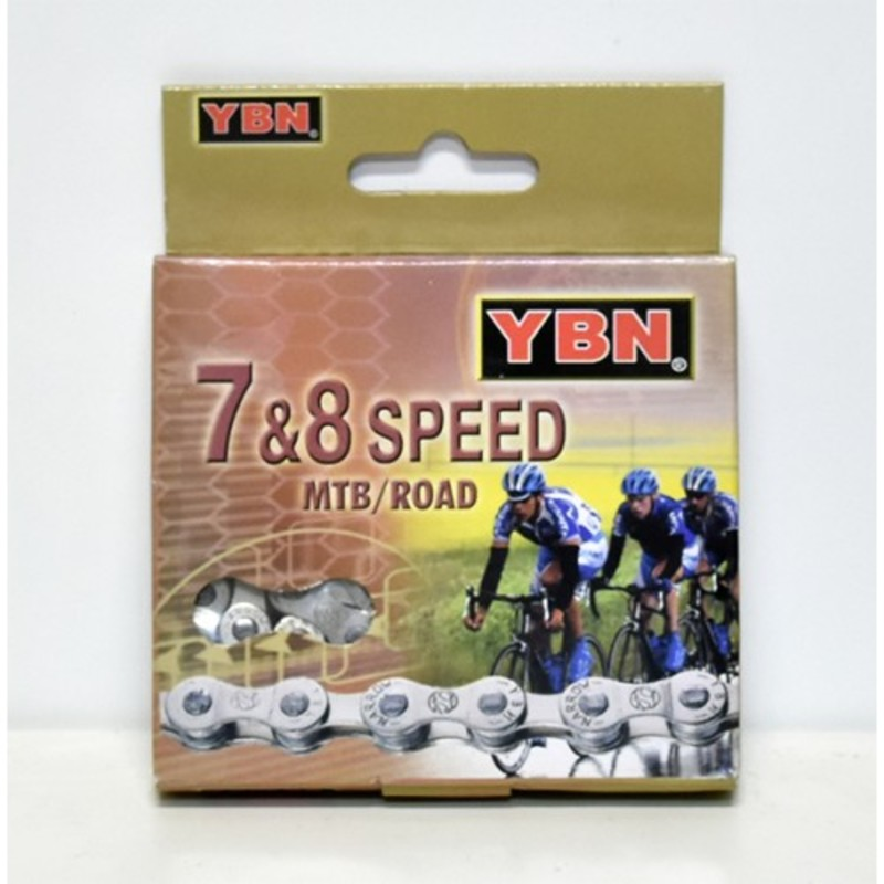 Yaban řetěz YBN S52-S2 7-8 SPEED X3-32