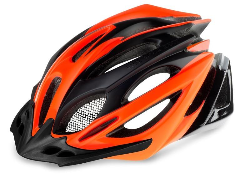 R2 helma PRO-TEC černá, neon červená