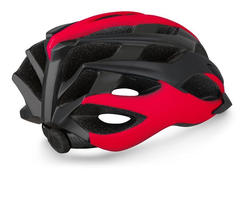 R2 helma TOUR černá, červená