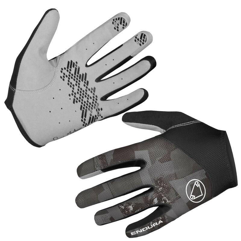 Endura rukavice HUMMVEE LITE II šedé maskáč