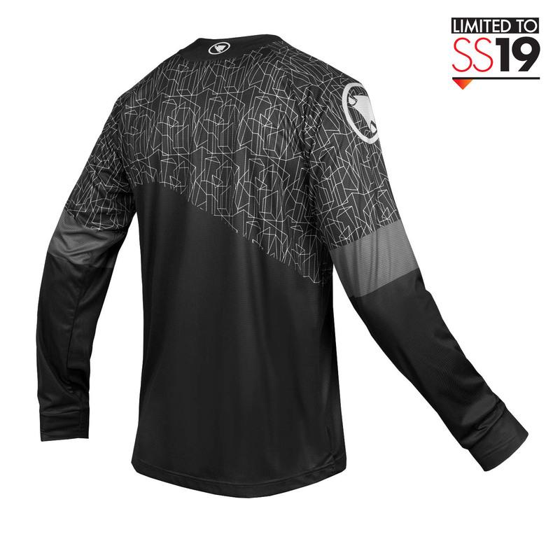 Endura dres s dlouhým rukávem MT500 Print černý