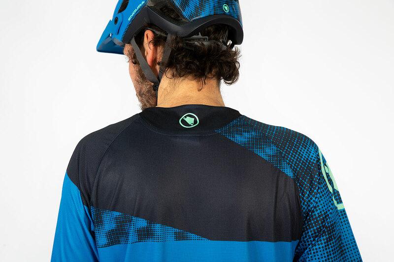 Endura dres SINGLETRACK Dots T LTD limetkově zelený