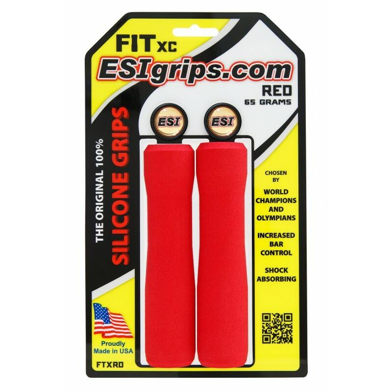 ESIgrips ergonomické silikonové gripy FIT XC