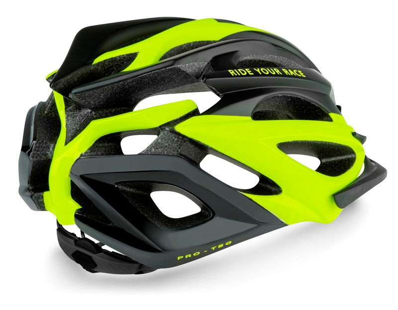 R2 helma PRO-TEC černá, neon žlutá