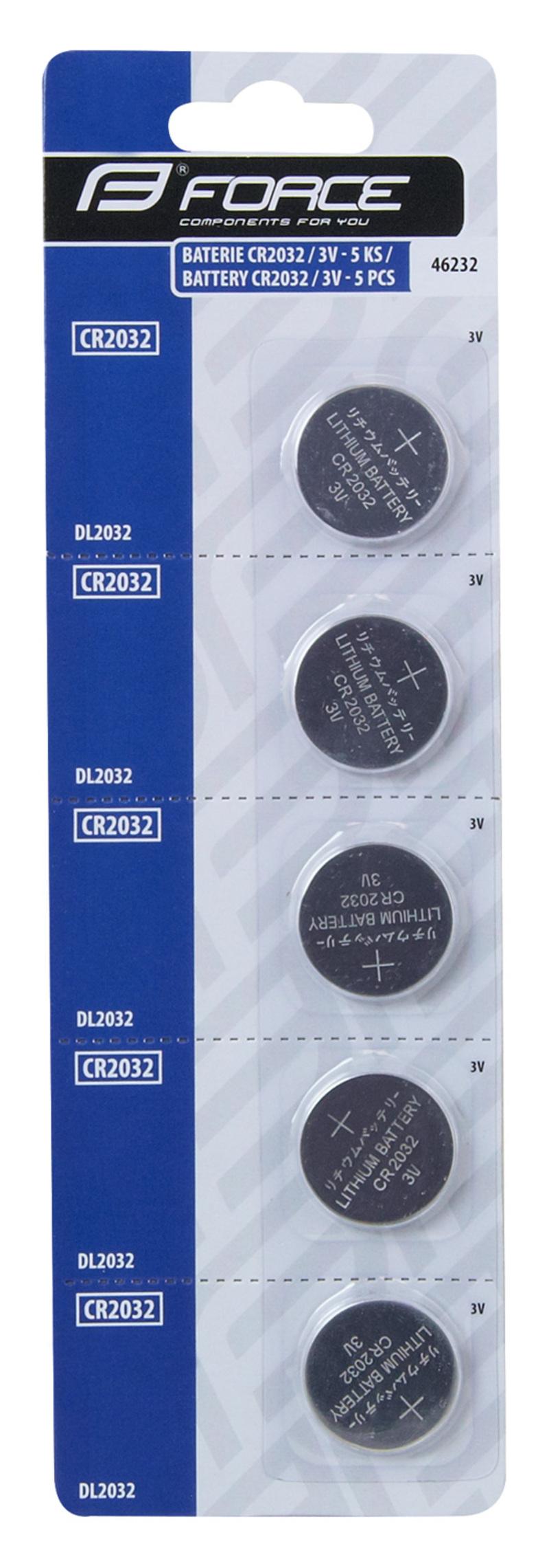 Force baterie CR2032 / 3V 1 ks