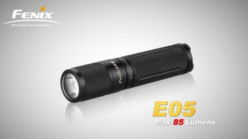 Fenix Baterka Fenix E05 XP-E2