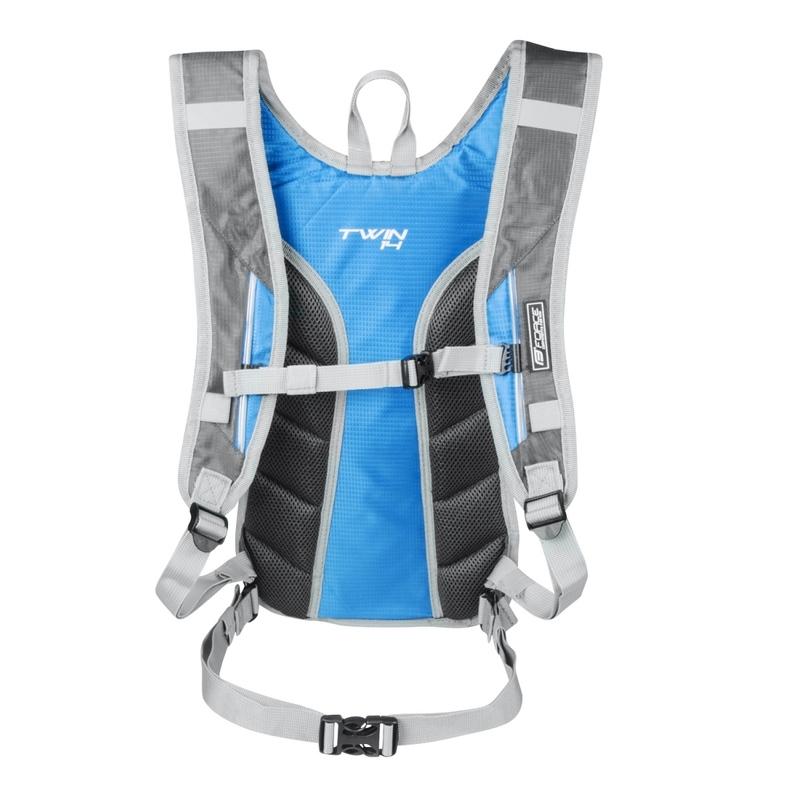 Force batoh TWIN 14 l, šedo - modrý