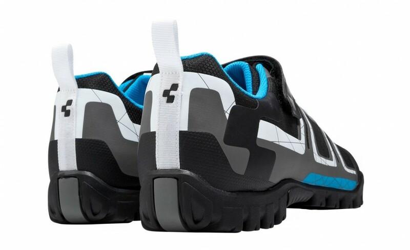 Cube boty ALL MOUNTAIN černo modro bílé