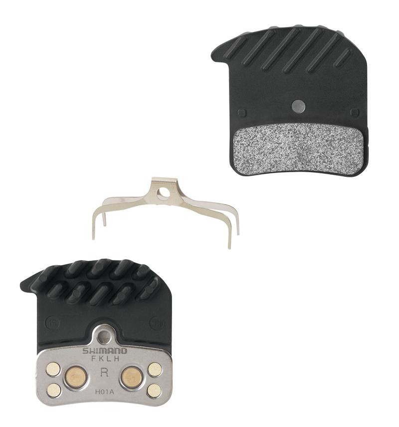 Shimano brzdové destičky H01A s chladičem polymerové