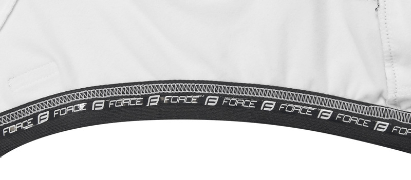Force bunda dlouhý rukáv X68, černo-bílá