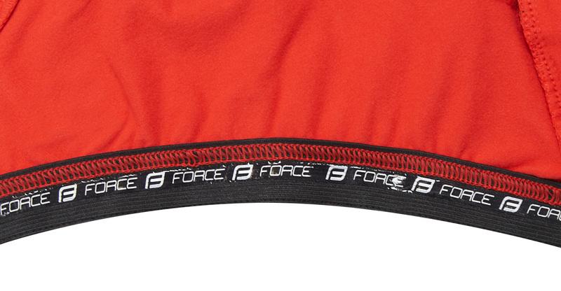 Force bunda dlouhý rukáv X68, černo-červená