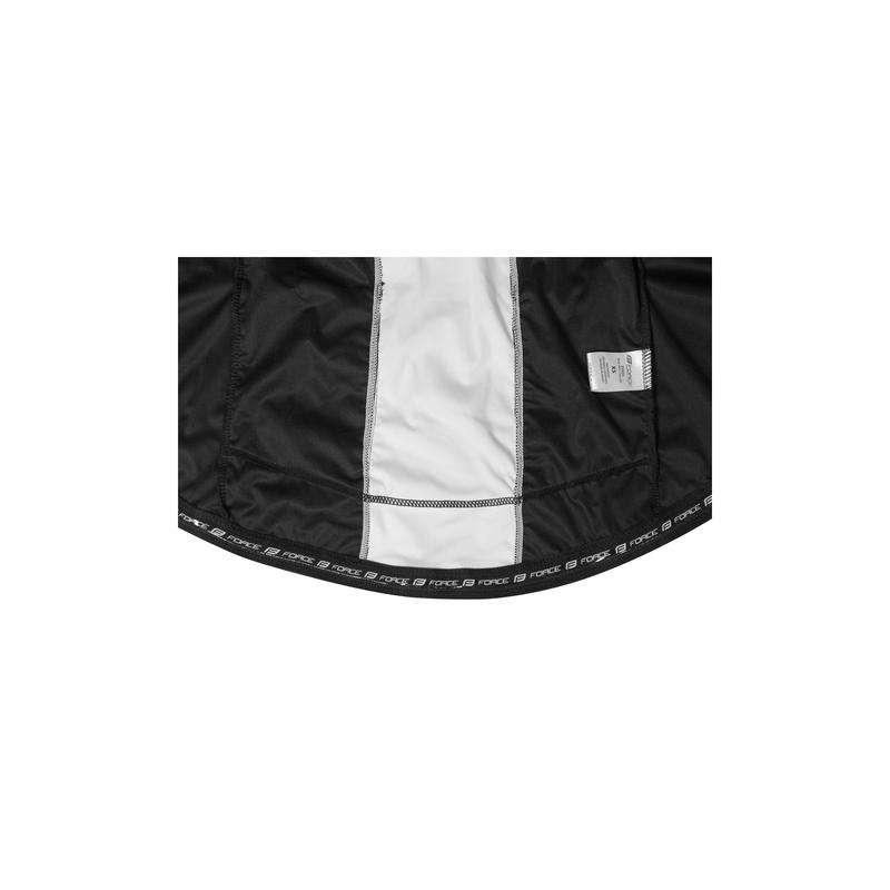 Force bunda X57 LADY neprofuk, černo-bílá
