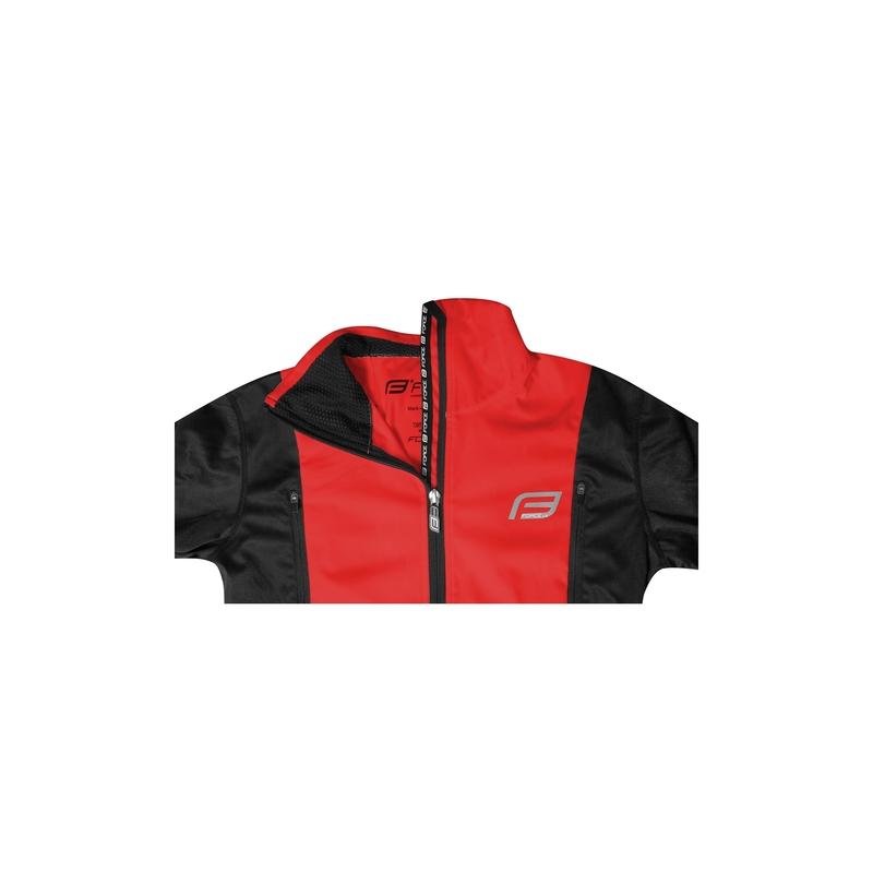 Force bunda X57 LADY neprofuk, černo-červená