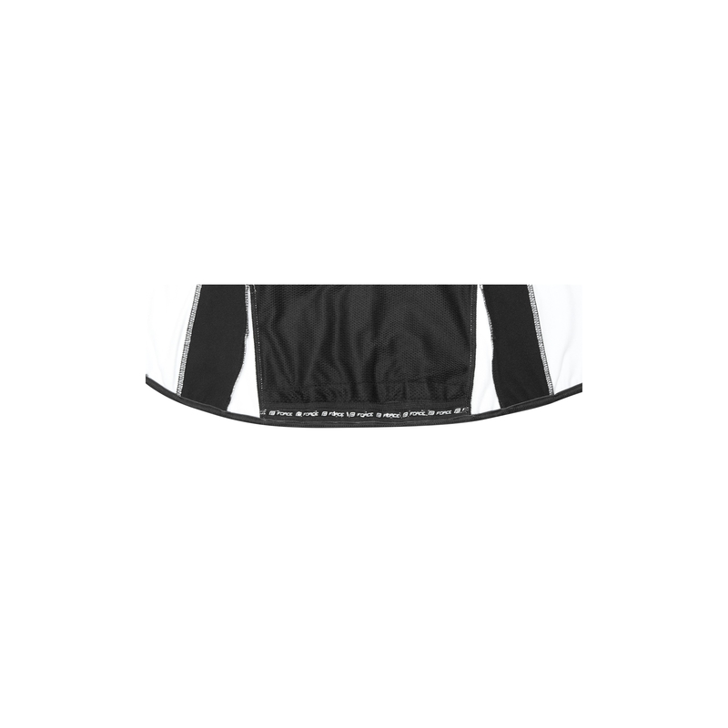 Force bunda X71 LADY softshell, černo-bílá