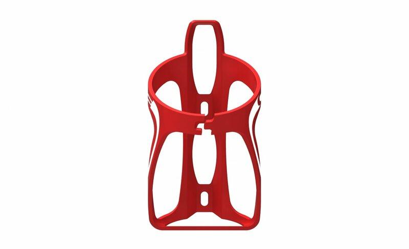Cube košík HPP červená/bílá