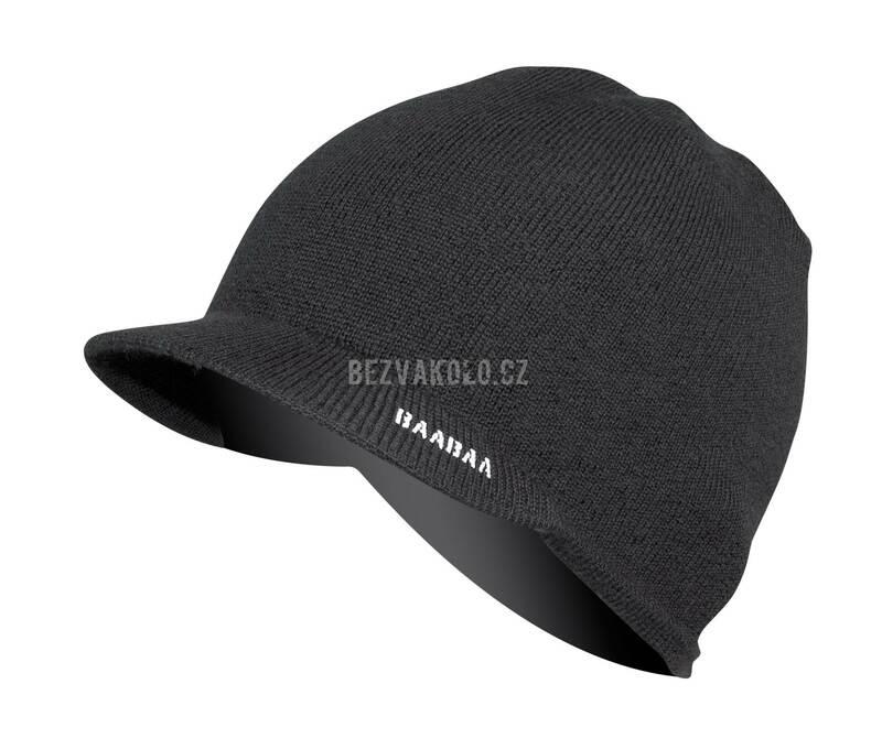 Endura čepice BAABAA Merino Skip Beanie black