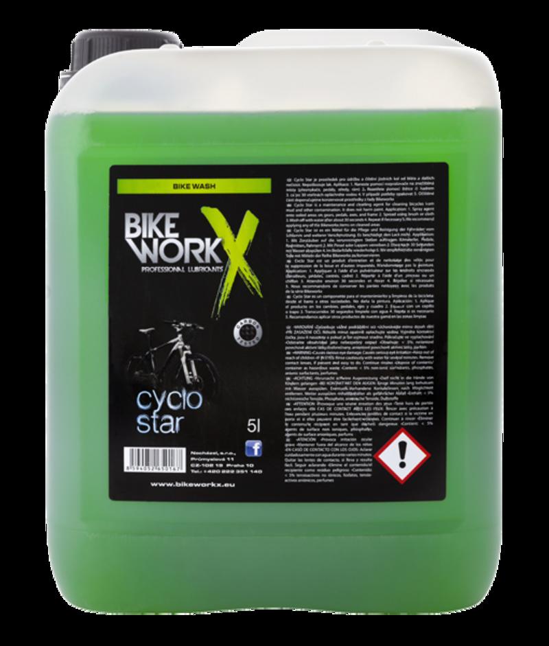 Bikeworkx čistič CYKLO STAR CARBON