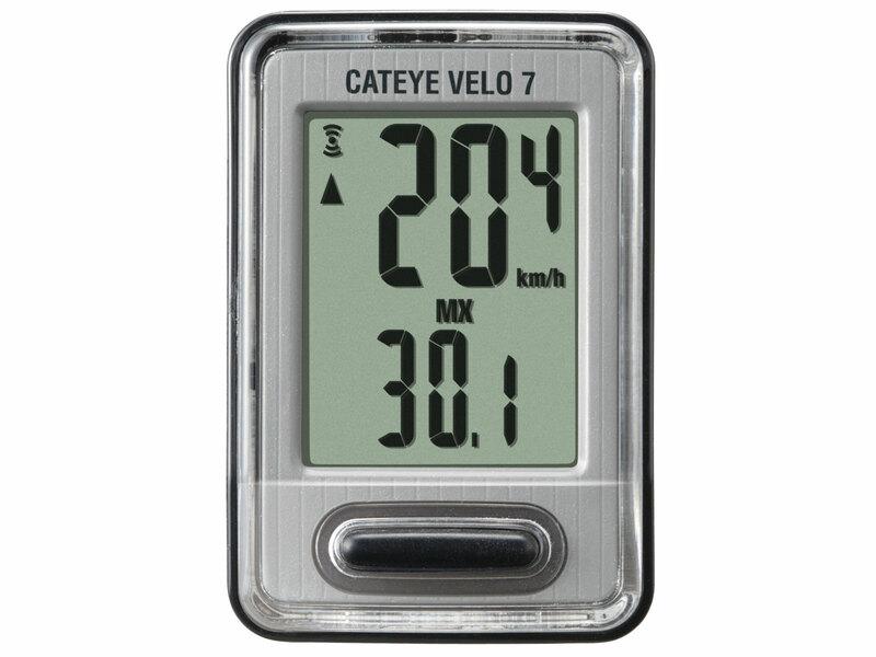 Cateye cyklopočítač CAT Velo 7 (VL520)