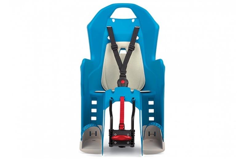 Polisport dětská sedačka KOOLAH zadní, stříbrná