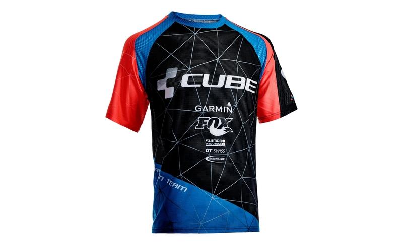 Cube dres ACTION kulatý výstřih s krátkým rukávem TEAM