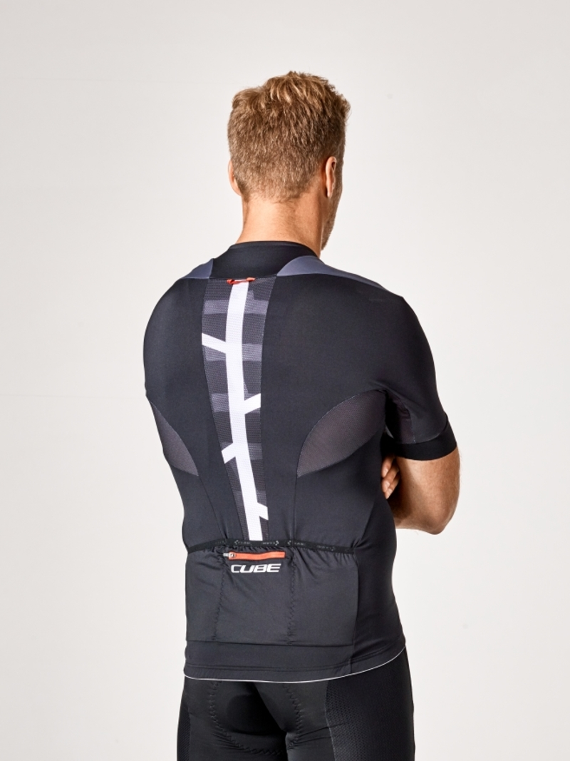 Cube dres BLACKLINE krátký rukáv