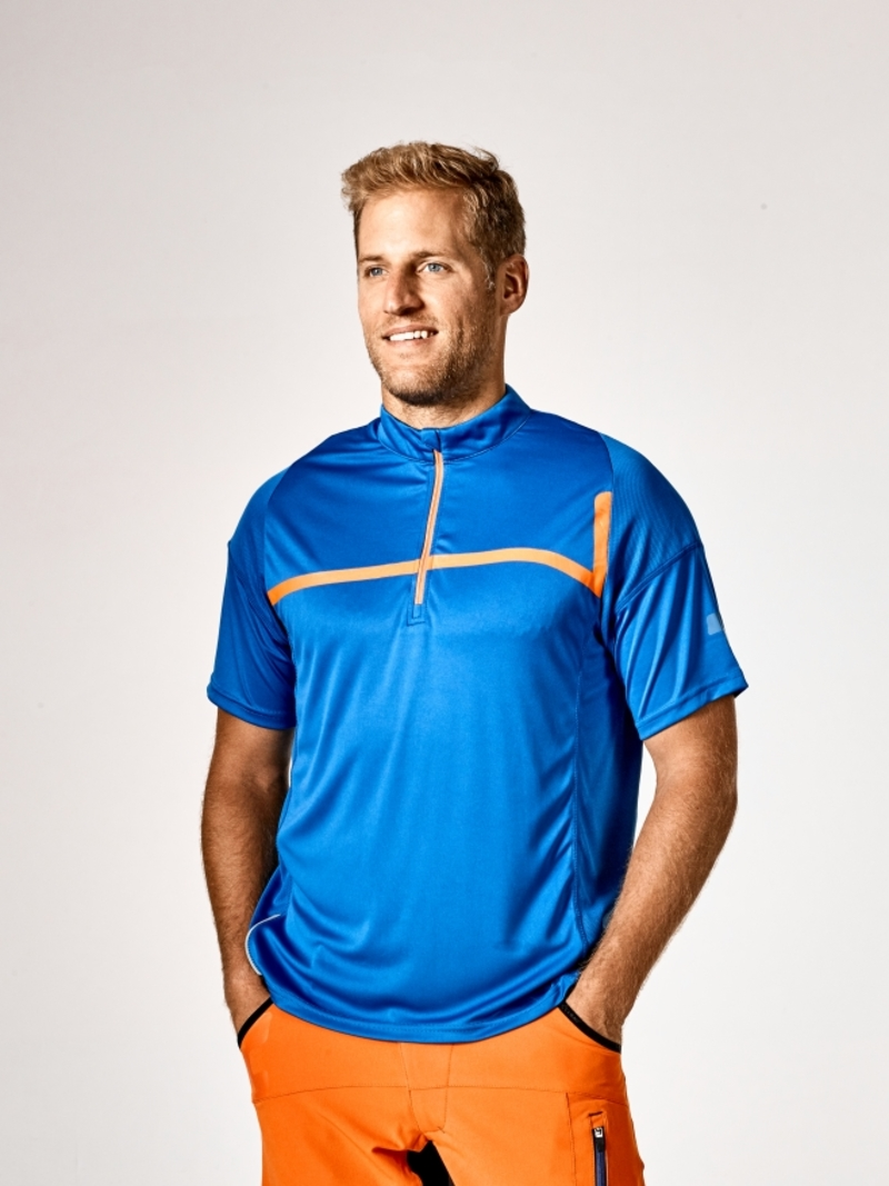 Cube dres MOTION LINE krátký rukáv blue/orange