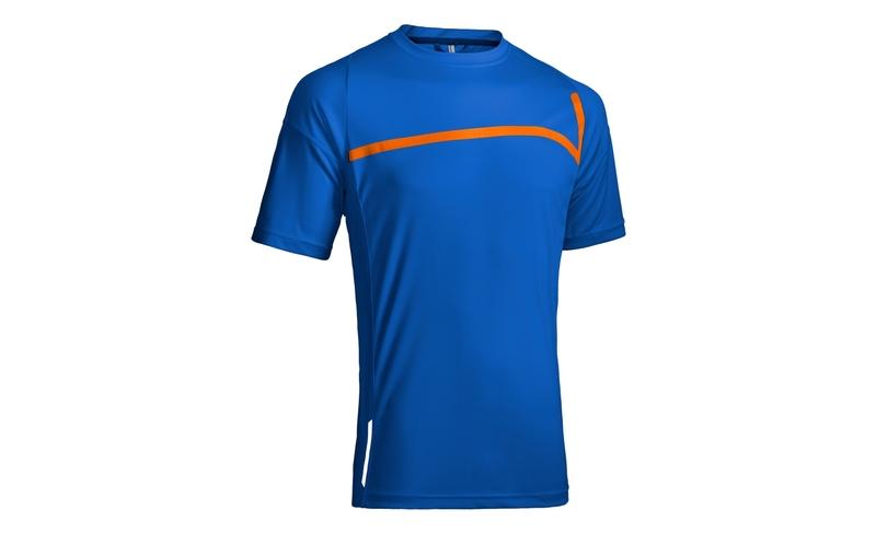 Cube dres MOTION LINE kulatý výstřih s krátkým rukávem blue/orange