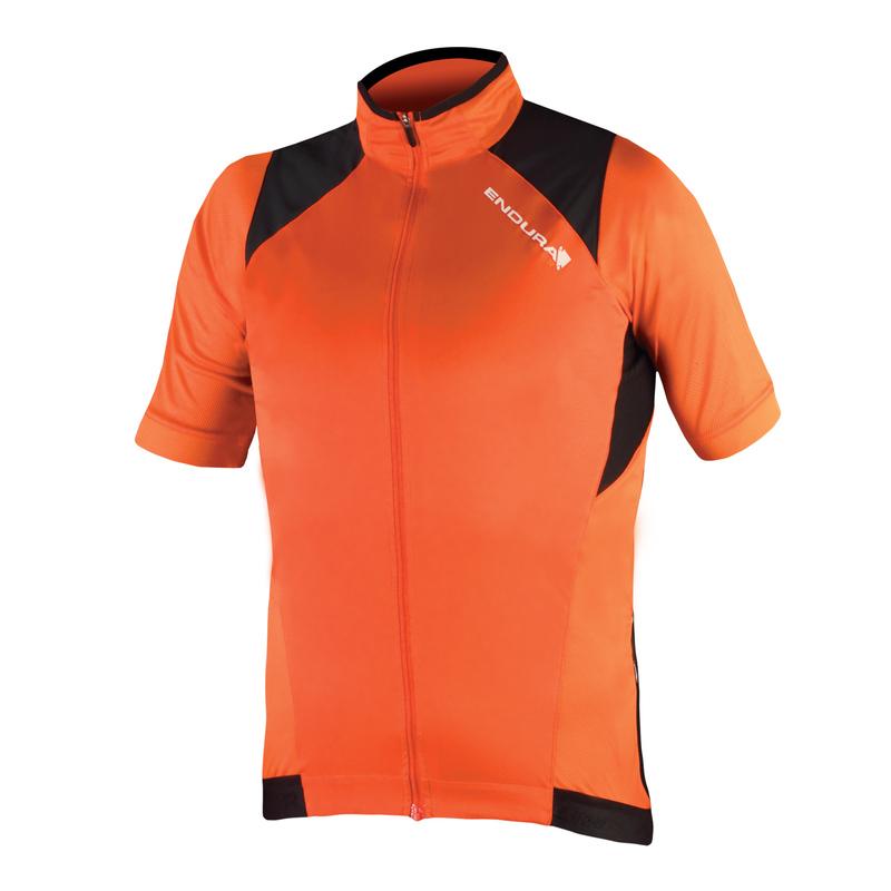 Endura dres MTR WINDPROOF krátký rukáv orange