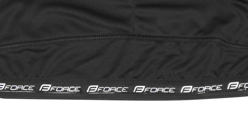 Force dres T10 krátký rukáv, černo-bílý
