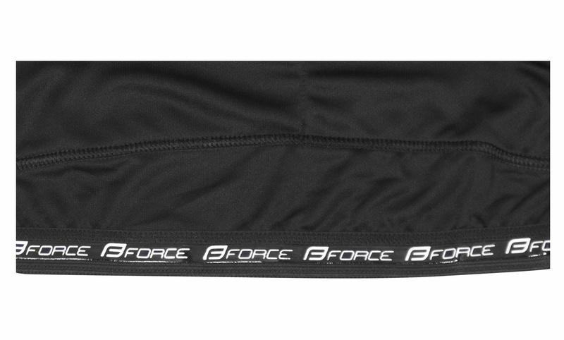 Force dres T12 krátký rukáv, černo-fluo