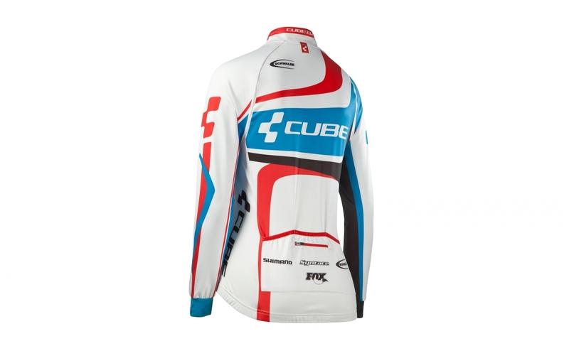 Cube dres TEAMLINE WLS dlouhý rukáv