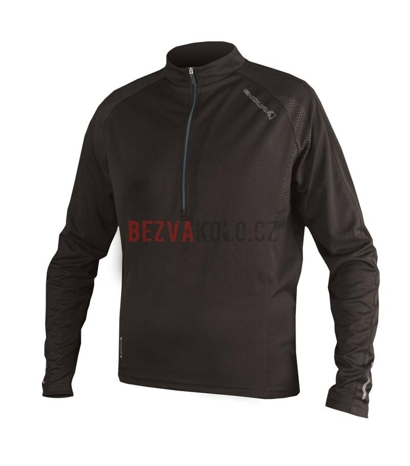 Endura dres XTRACT L/S jersey black