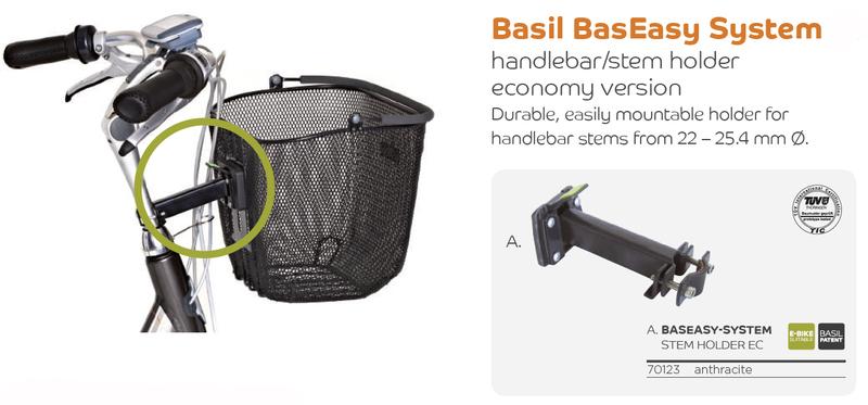 Basil držák Easy System BasEasy