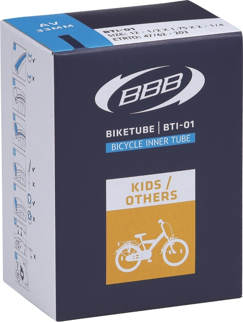 BBB duše BIKETUBE BTI-11 16x1.75/2.125