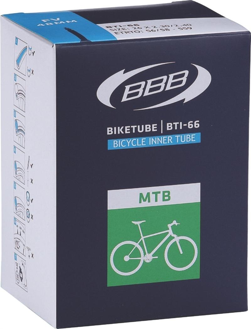 BBB duše BIKETUBE BTI-61 26x1.25 FV