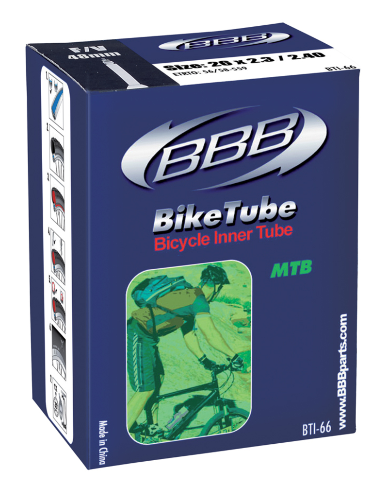 BBB duše BIKETUBE BTI-64 26x2.125/2.25