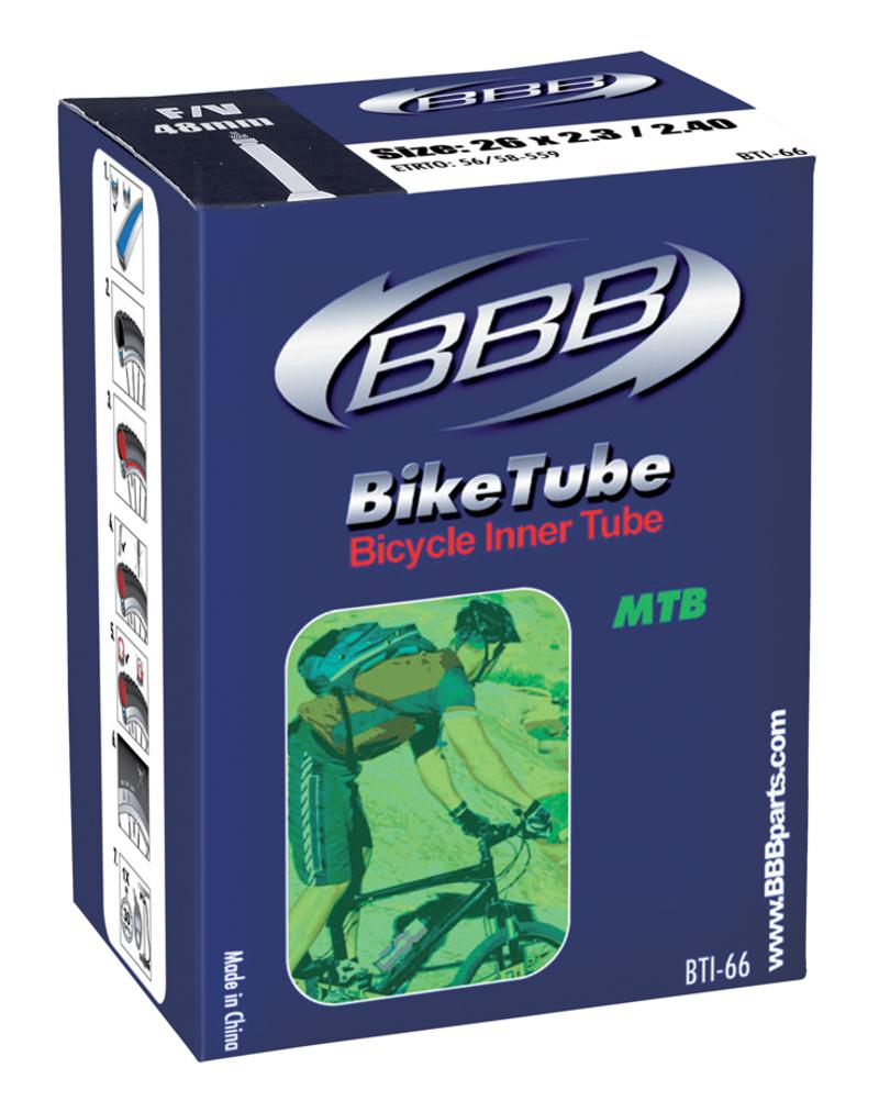 BBB duše BIKETUBE BTI-65 26x1.3/8