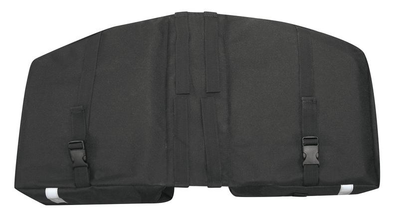 Force dvojbrašna zadní DOUBLE, černá 2x10 l