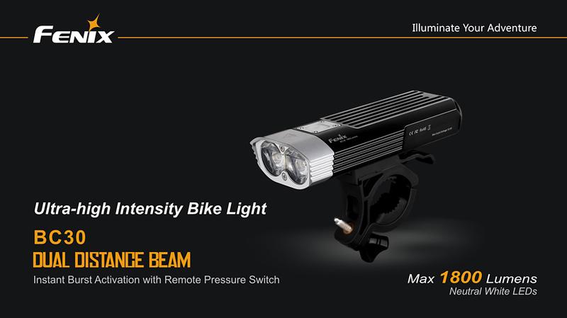 Fenix světlo BC30