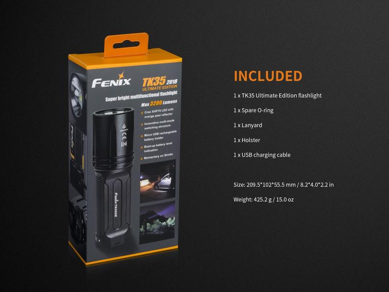 Fenix LED svítilna TK35 Ultimate Edition (3200 lumenů)