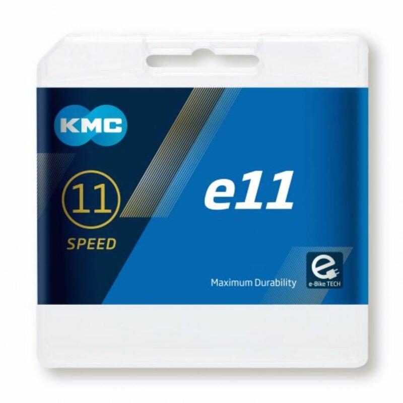 KMC řetěz E11 stříbrný
