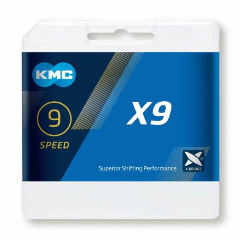 KMC řetěz X9 Ti-N Gold