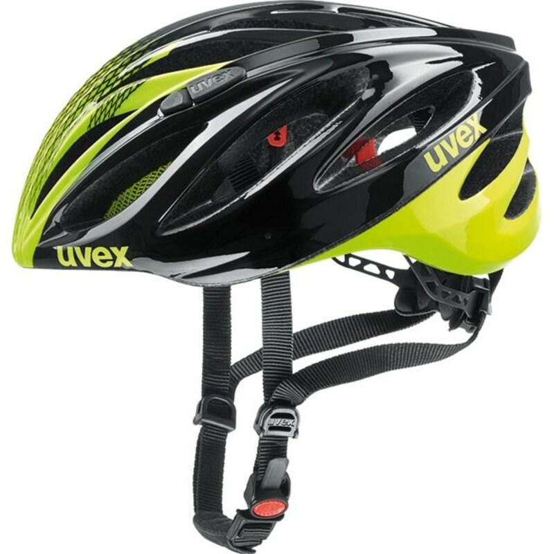 Uvex helma BOSS RACE black-neon yellow