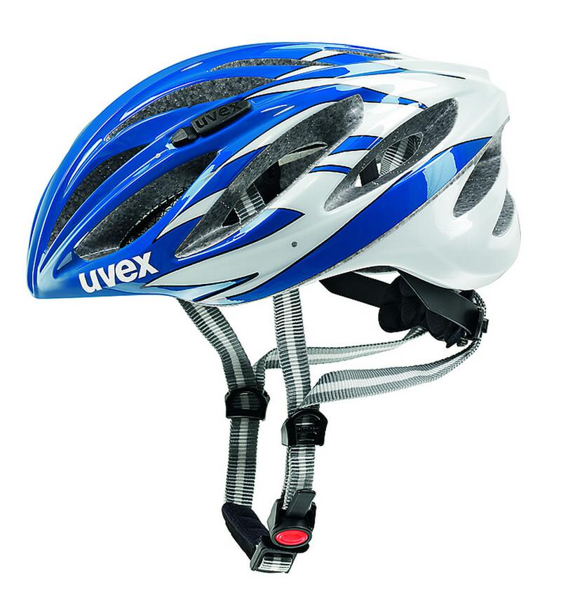 Uvex helma BOSS RACE blue-white