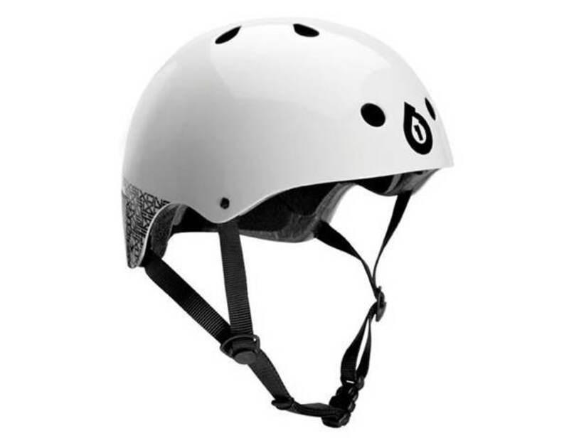 SixSixOne helma DIRT LID white